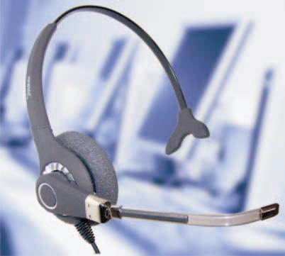 Phone headset Freemate DH-027T call center