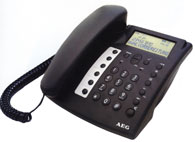 Telefon fix analog AEG Ascona CLIP Voice
